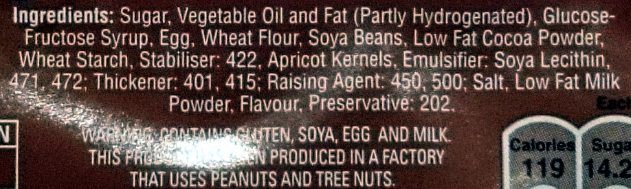 7 Mini Battengergs - Ingredients