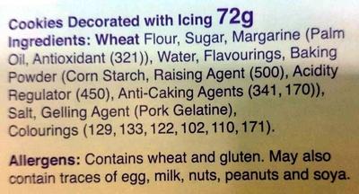 Farmyard Cookies - Ingredients