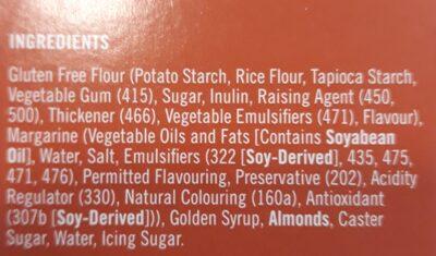 almond crescents - Ingredients - en