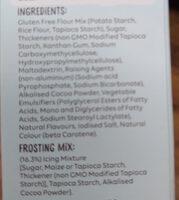 Marble Cake Mix - Ingredients - en