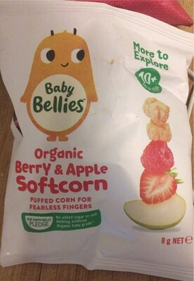 Organic berry and apple softcorn - Product - en