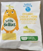 Organic Cheese & Herb fiddlesticks - Product - en