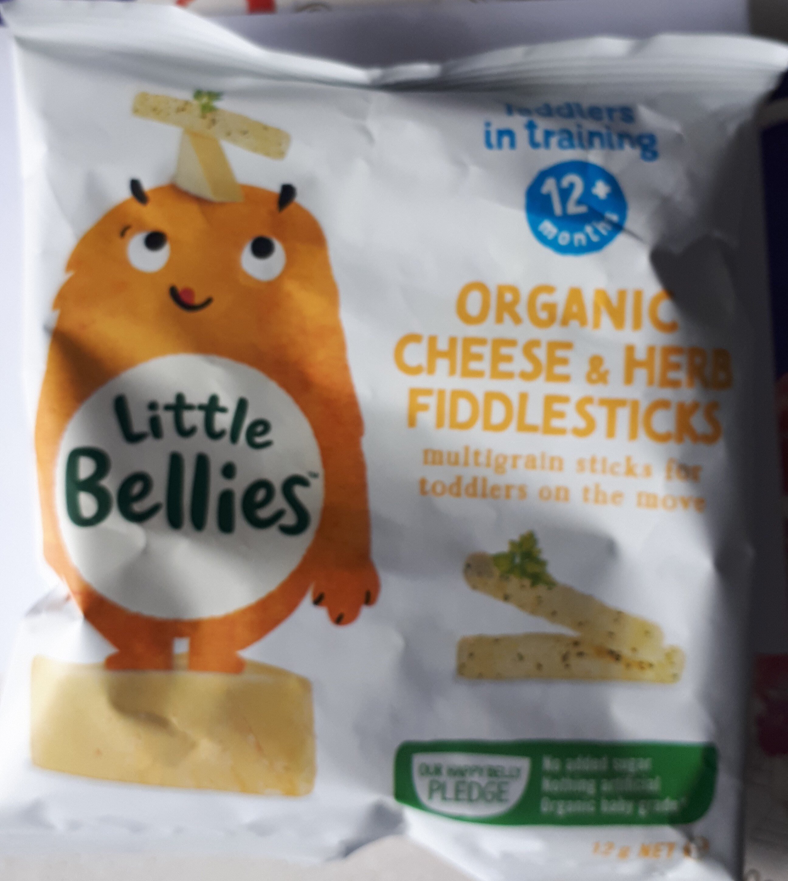 Organic Cheese and Herb Fiddlesticks - Product - en