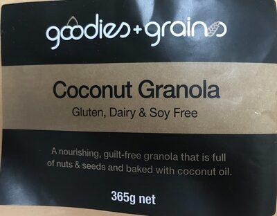 Goodies + Grains Coconut Granola - Product - en