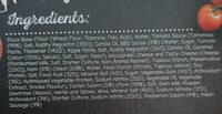 BBQ Meat Deluxe Pizza - Ingredients - en