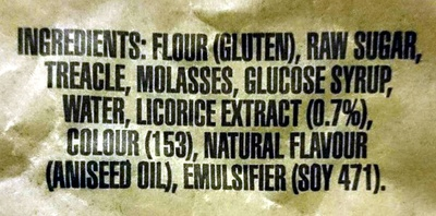 Licorice Lovers Fresh Licorice - Ingredients - en