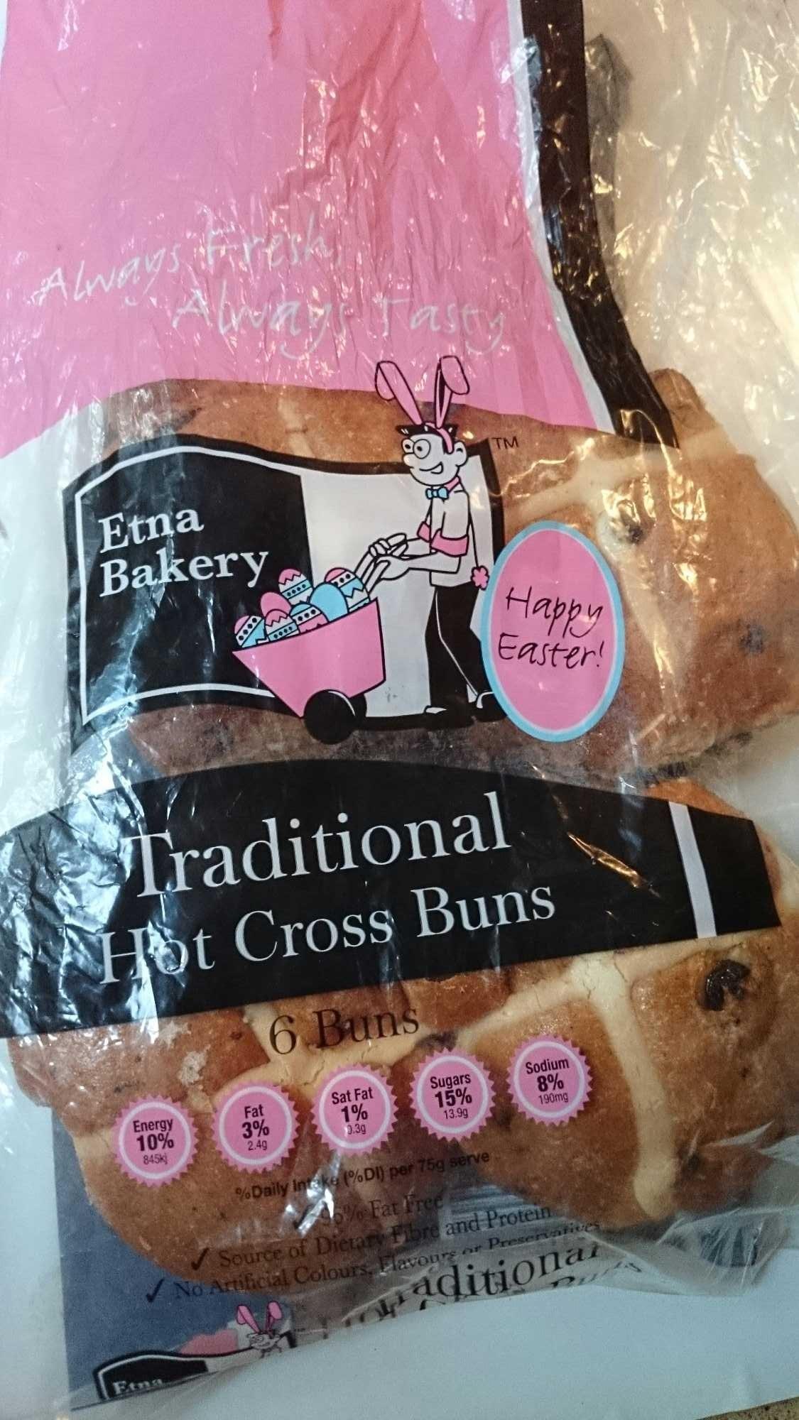 Traditional Hot Cross Buns - Produit