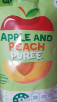 Apple and peach puree - Product - en
