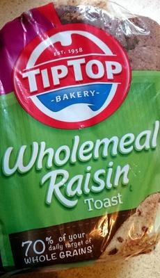 Wholemeal Raisin Toast - Product