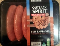 Beef Sausages With Bush Tomato - Product