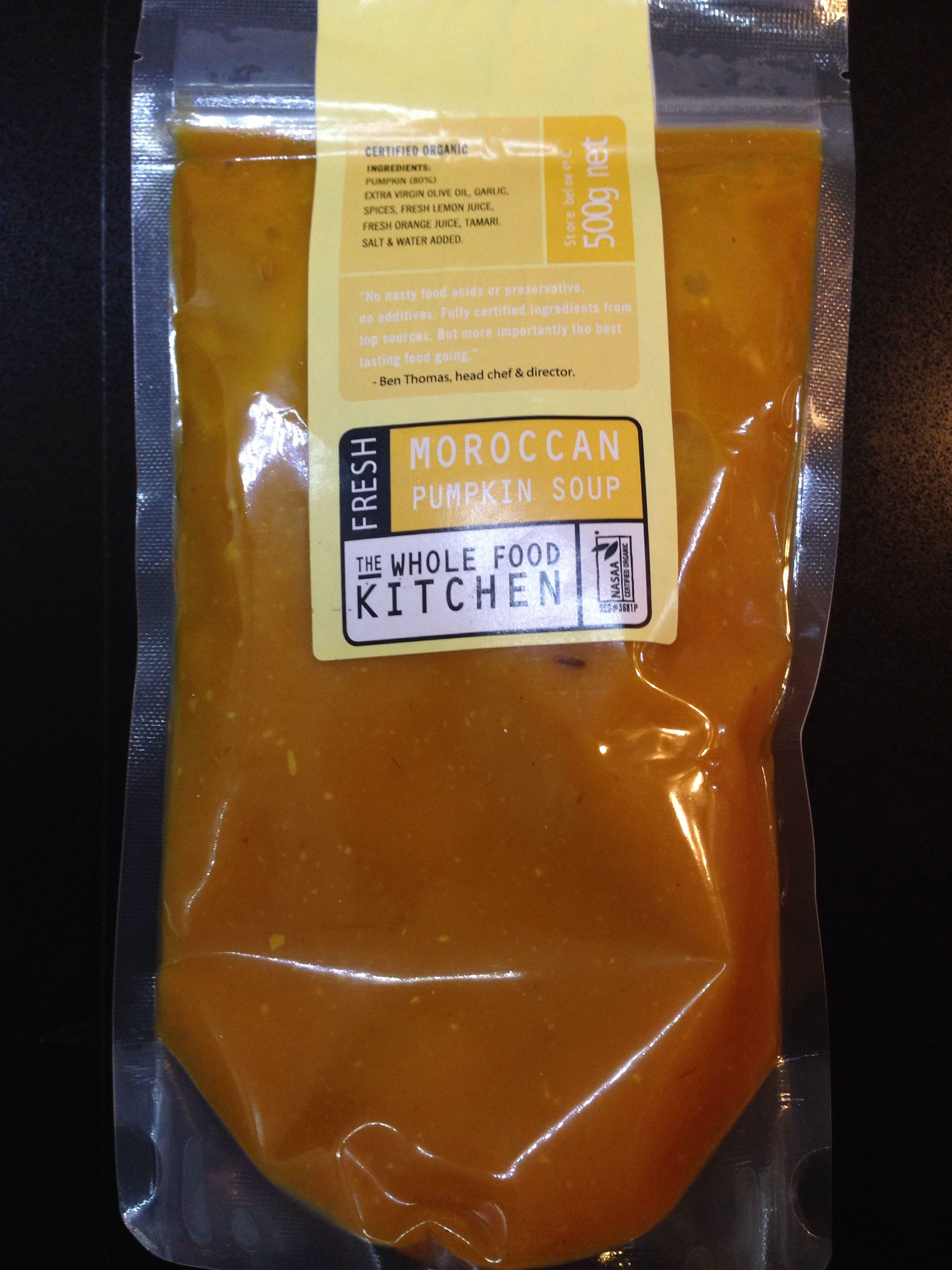 Moroccan Pumpkin Soup - Product - en