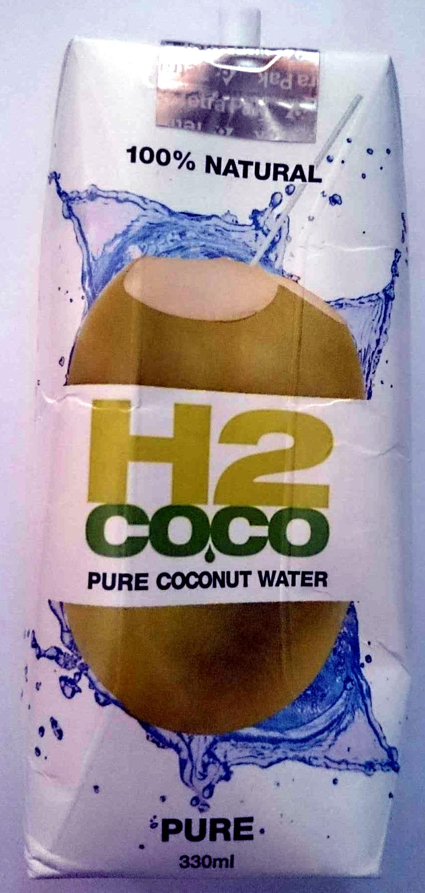 H2 Coco Pure Coconut Water - Product - en