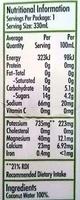 H2 Coco Pure Coconut Water - Nutrition facts - en