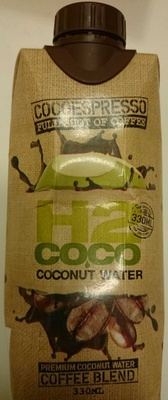 CocoEspresso Full Shot of Coffee H2 Coco Coconut Water - Product