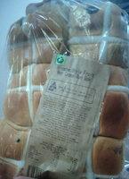 Brioche Style Fruit Hot Cross Bun 6pk - Product