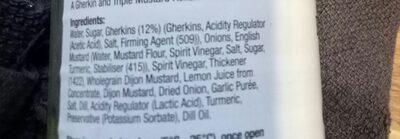 burger relish - Ingredients - en
