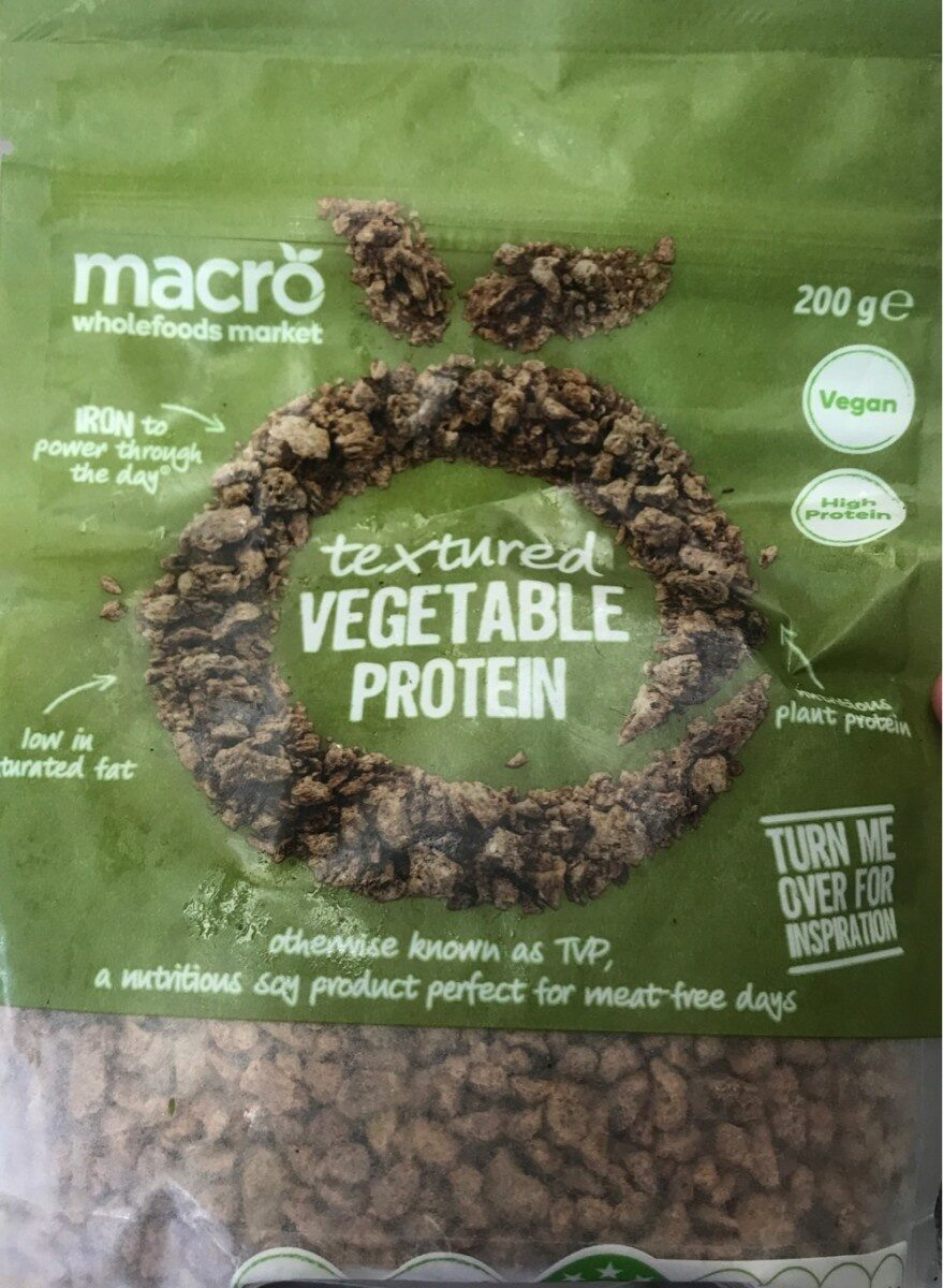 Vegetable protein - Product