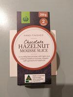 Chocolate Hazelnut Mousse Slice - Product - en