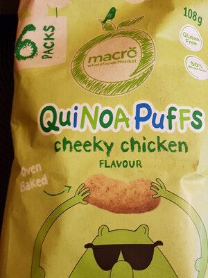 Quinoa Puffs cheeky chicken flavour - Product - en