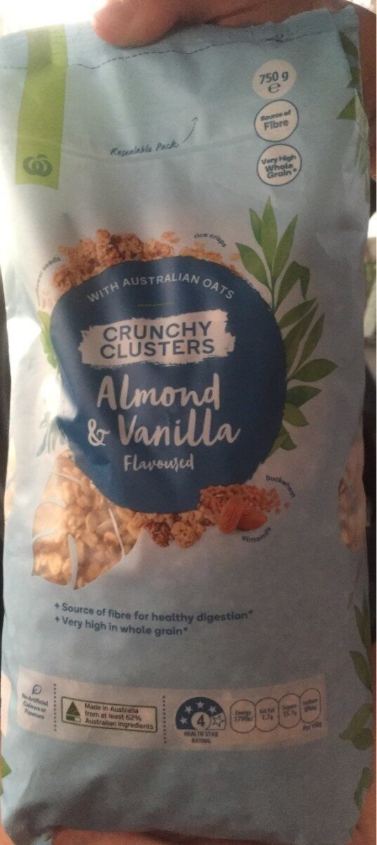 Crunchy clusters almond & vanilla - Product
