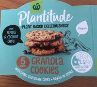 Granola cookies - Product - en