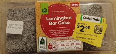 Aussie Classic Lamington Bar Cake - Product - en