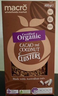 Cacao and coconut clusters - Product - en