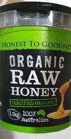 organic raw honey - Product - en