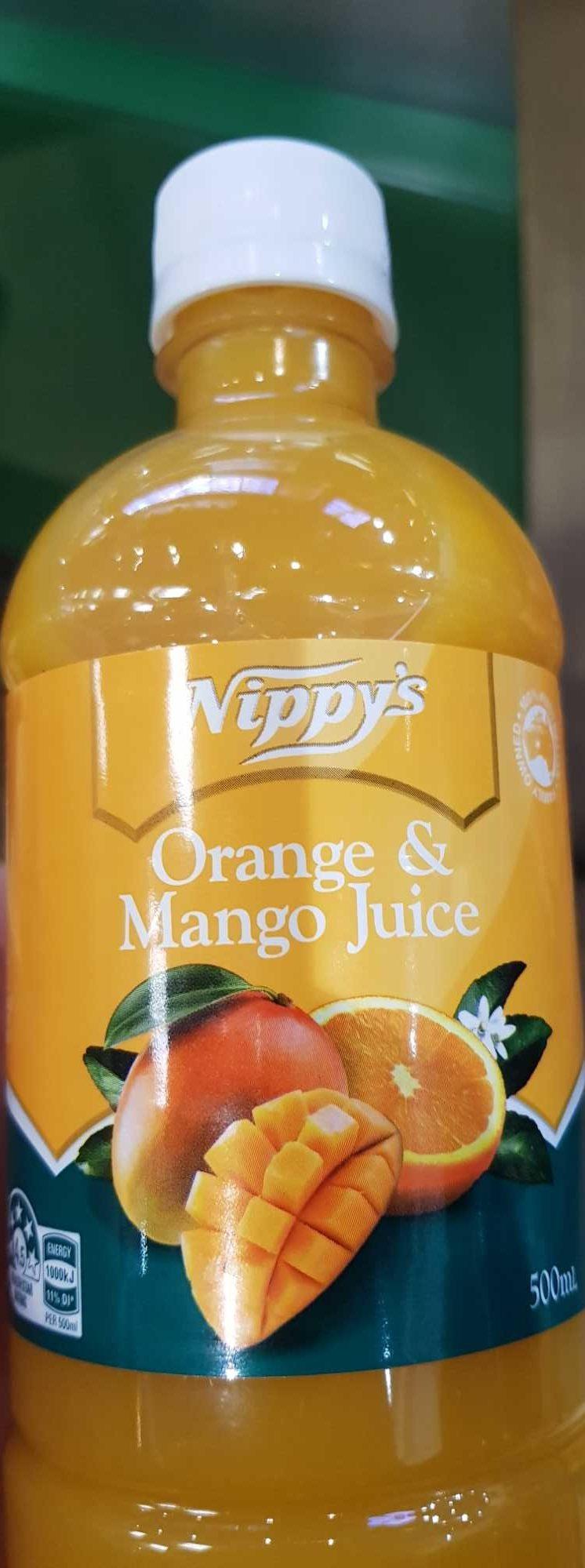 Nippy's Orange & Mango Juice - Product