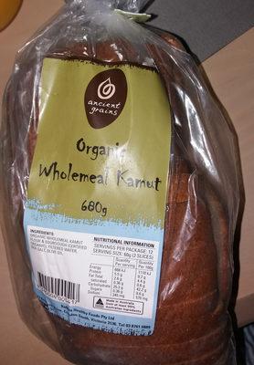 Organic Wholemeal Kamut - Product