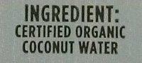King Coconut Water - Ingredients
