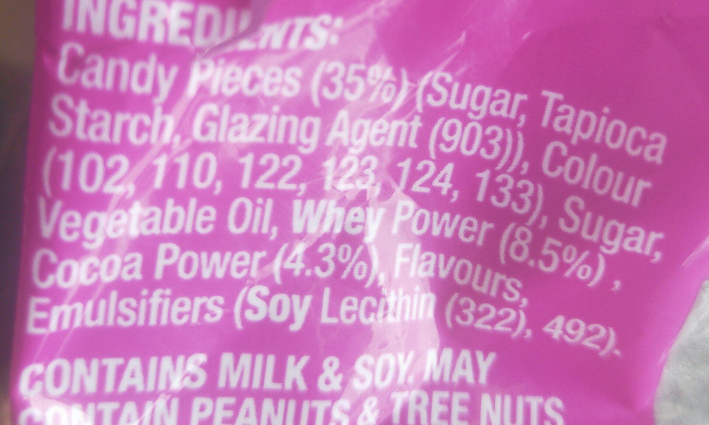 choc jewels - Ingredients - en