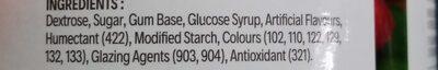 Gumballs - Ingredients