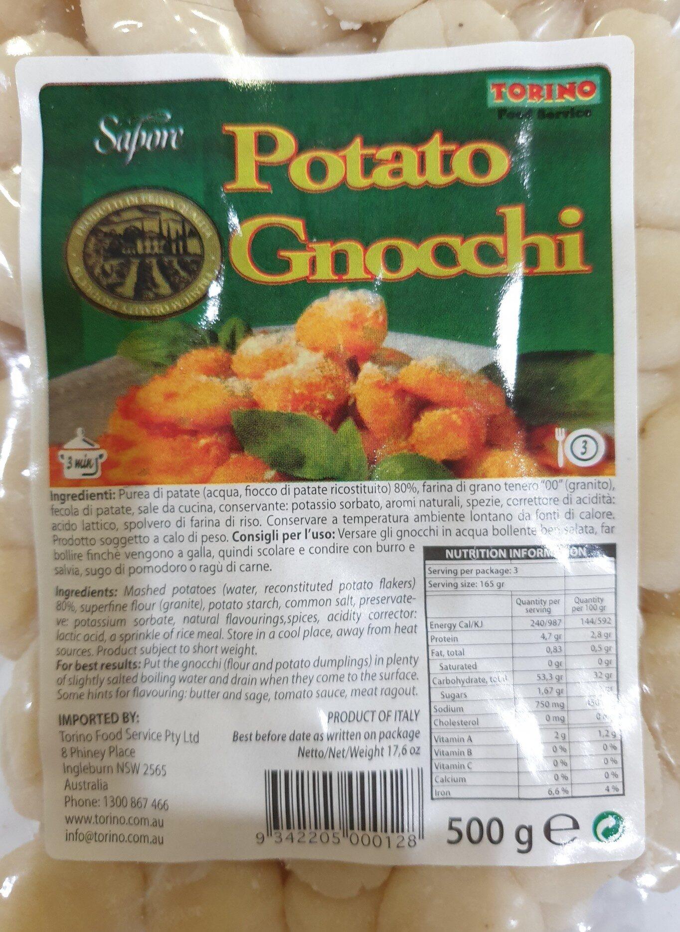 Potato Gnocchi - Product - en