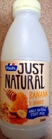 Just Natural Banana & Honey - Product