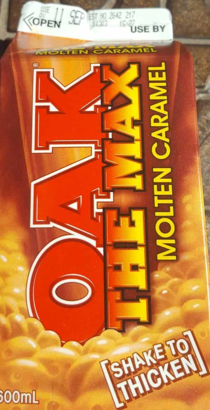 Oak The Max Molten Caramel - Product