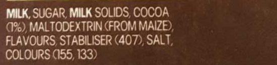 The max cool choc mint - Ingredients - en