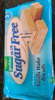 Vanilla Wafer Biscuits - Product - en