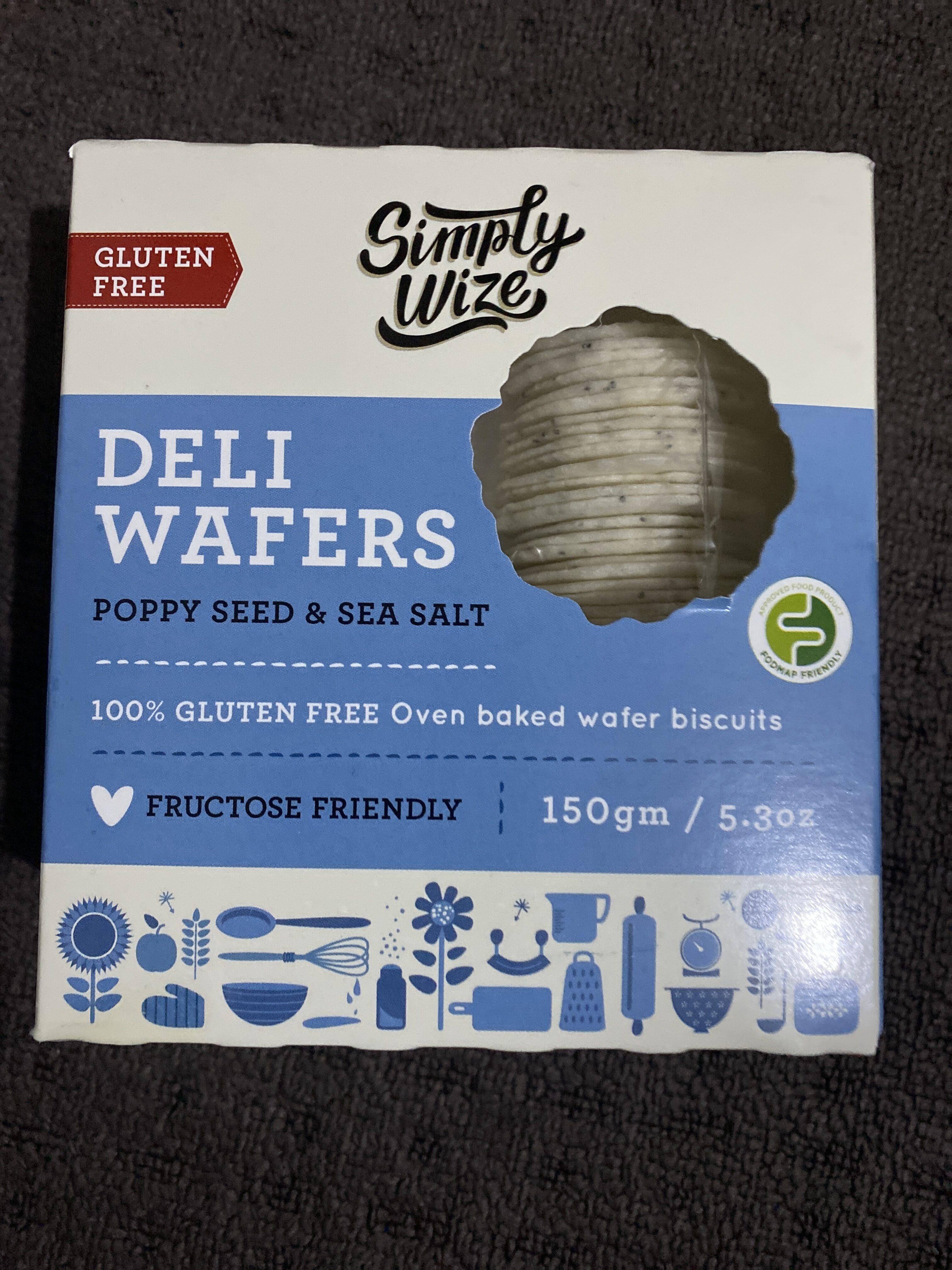Gluten Free Deli Wafers - Product - en