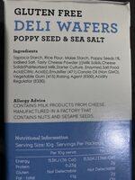 Gluten Free Deli Wafers - Ingredients - en
