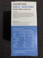 Gluten Free Deli Wafers - Nutrition facts - en