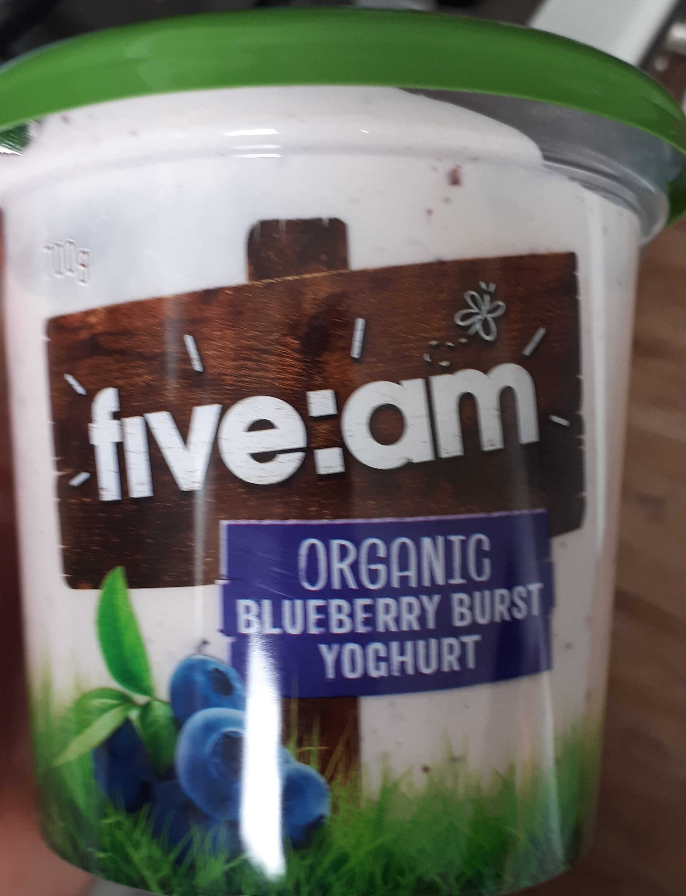 Organic Blueberry Burst Yogurt - Product - en