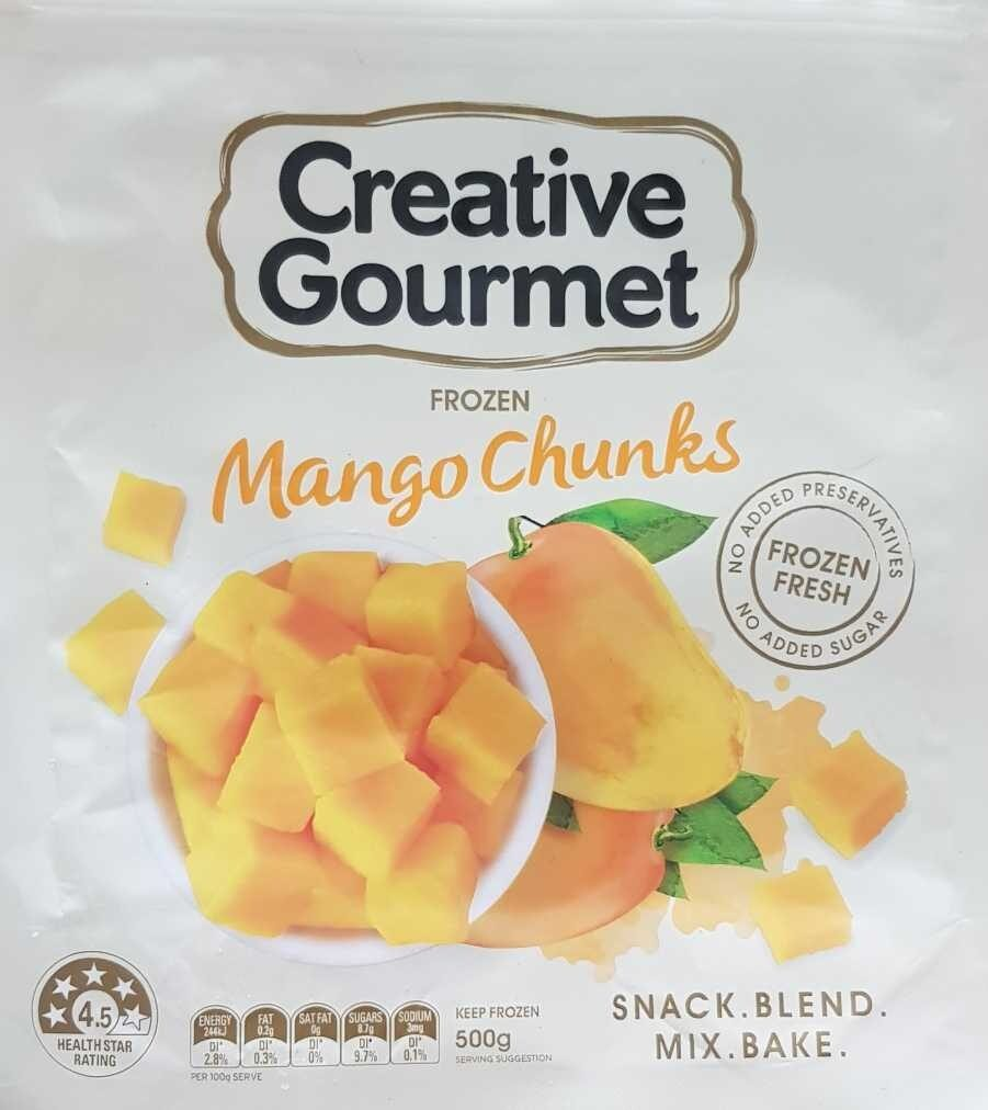 Frozen Mango Chunks - Product - en