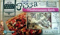 Fresh Pizza Mediterranean Lamb - Product