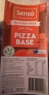 Gluten Free Pizza Base - Product