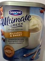 The Ultimate yoghurt by Danone - Natural & Sweet - Product