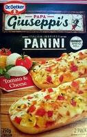 Italian Inspired Panini - Tomato & Cheese - Product