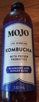 Kombucha Blueberry and Ginger - Product