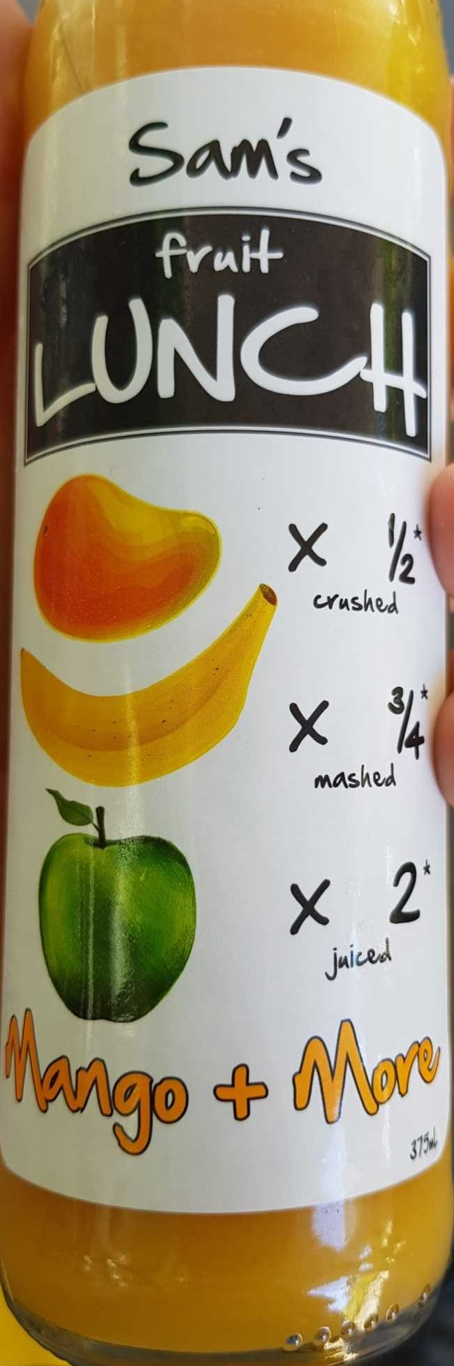 Sam's Fruit Lunch Mango + more - Product