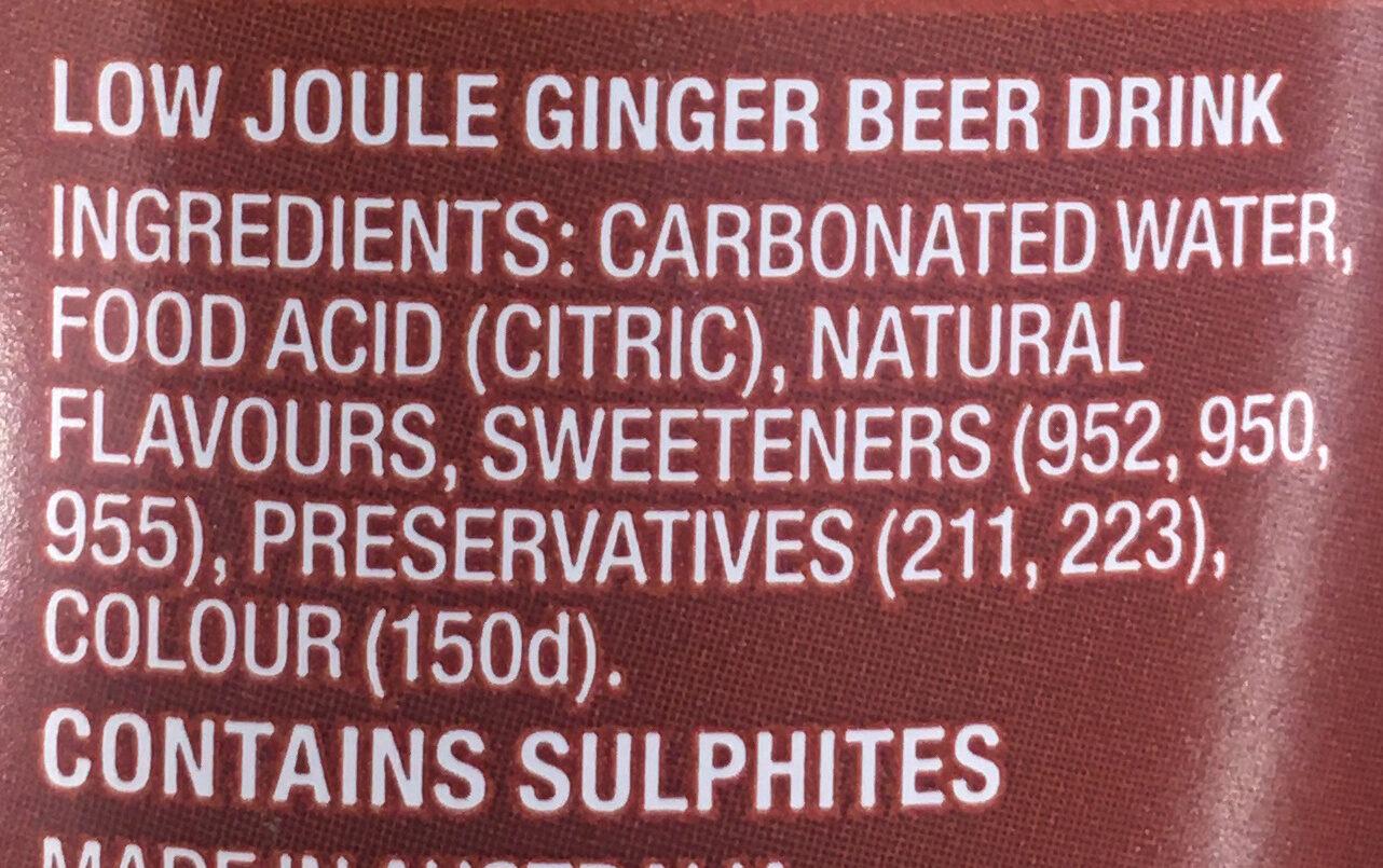 Ginger beer - Ingredients - en